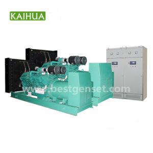 Aprovado pela CE 400V 50Hz 650KW de potência principal gerador diesel