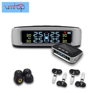 Aluguer TPMS Sspp Externo/Sensor Interno Auto Alarm System a energia solar o carregamento do visor LCD