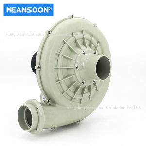 탈소화 시스템을 위한 3인치 75 화학 PP 플라스틱 송풍기