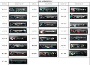 De Speler van de Auto DVD van Bluetooth met Multi LEIDENE Kleur