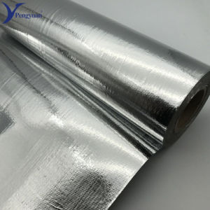 Tecidos revestidos de alumínio altamente refletivo material de isolamento Mylar