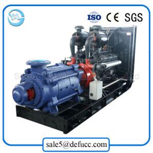 Horizontale mehrstufige Hochdruckschleuderpumpe angetrieben durch Dieselmotor