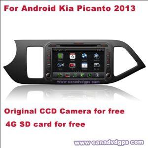 자유로운 제일 질 제일 서비스를 위한 차 DVD 플레이어 DVR WiFi 3G CCD 사진기 SD 카드에서 인조 인간 KIA Picanto 2013년은 Shipping+Gift를 해방한다
