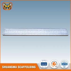 Aufbau-und Dekoration-Baugerüst-Stahl-Planke