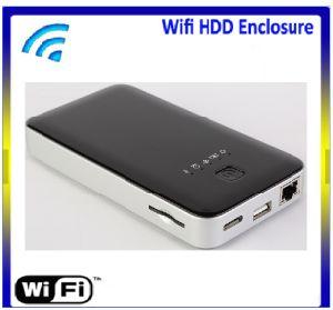 Unidade de disco rígido externo sem fio Wi-Fi