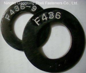 M6-M36 rondelle plate de la pente ASTM F436