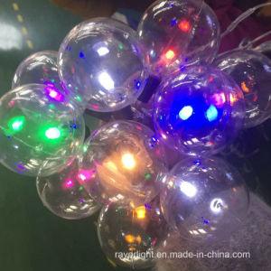 LED-Feiertags-Dekoration-Blinkenstern-Weihnachtsvorhang-Lichter