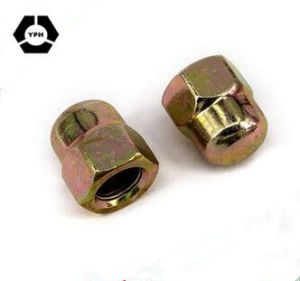 En acier inoxydable et bouchon à tête ronde en acier au carbone de l'écrou