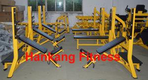 la strumentazione di ginnastica, la strumentazione body-building, la forma fisica, concentrazione del martello, diminuisce il banco addominale (HS-4002)