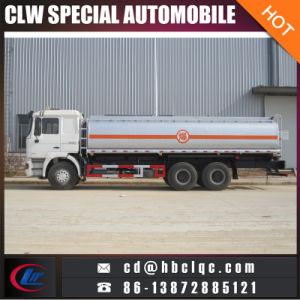 De Auto van de Tank van de Benzine van de Tankwagen van het Vervoer van de Olie van Shacman 6X4 16mt 20mt