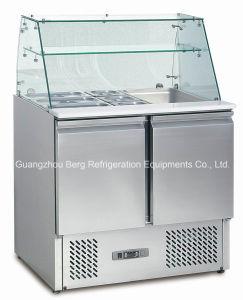 セリウムの承認のレストラン装置ピザ準備表冷却装置