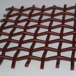 O fio de aço de alto carbono Tecidos de malha de tela para vibrar