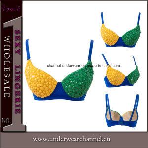 Perles femmes Clubwear Soutien-gorge push up Cup et haut de la Lingerie 2c5f05c49ff