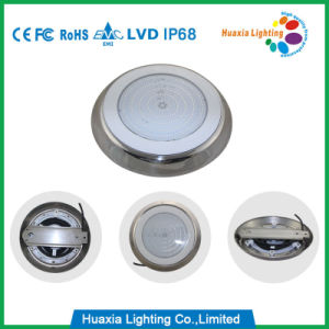 42watt indicatore luminoso subacqueo della piscina riempito resina dell'acciaio inossidabile LED