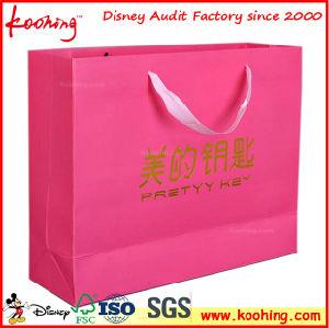 El papel de promoción de la bolsa de regalos, ropa y calzado Bolsas