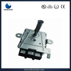 Motor síncrono eléctrico de baja velocidad para microondas