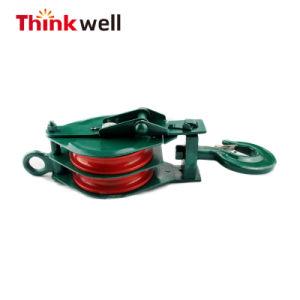 Comercio al por mayor de la polea de acero forjado con gancho pesado