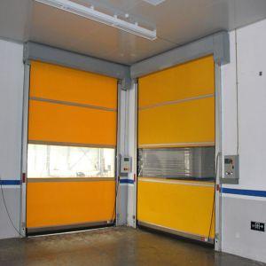 Industrieller Hochgeschwindigkeitsrollen-Blendenverschluss-Plastiktür (HF-1087)