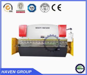 hydraulische Presse-Bremsen-Maschine CNC-100t