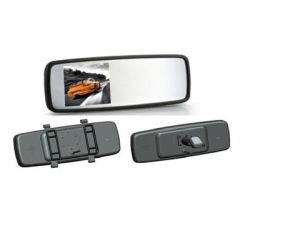 Option, 4.3 또는 5.0 Inch Electrochromic 자동 Dimming Video Parking Mirror를 위한 위에 부류 & Clip