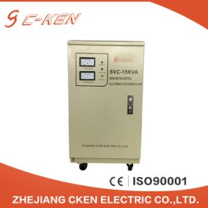 Alta precisión monofásico 15kVA el regulador de voltaje de CA