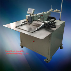 Computergesteuerte ledernes Muster-industrielle Nähmaschine (ZH4030)