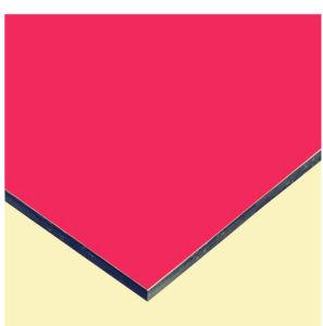 Het kleurrijke PE PVDF Nano Samengestelde Comité van het Aluminium van de Deklaag Feve