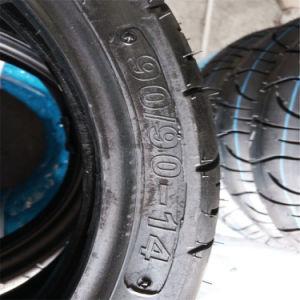 Motorrad-Gummireifen des Honda-Vission 110cc vorderes hinterer Gummireifen-80/90-14 {90/90-14}