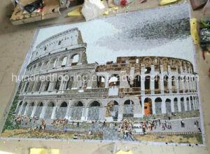 Мозаичное панно плиткой и мозаикой изображения для монтажа на стену (ЛРЗ810)