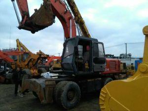 Usato/Secondhand Cheap Original Hitachi Ex160, Ex100 Wheel Excavator/Digger da vendere