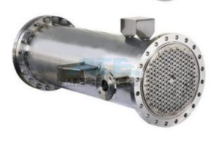 Tubi tubolari di titanio del titanio dello scambiatore di calore
