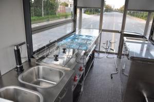 De openlucht Klassieke Mobiele BBQ en van de Bakkerij Vrachtwagen van het Voedsel voor Verkoop