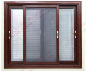 China Fabricante de expertos de la ventana corrediza de aluminio con perfil de aluminio (BHA-SW18)