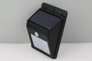 4levou à prova de sensor humano Solar Luz de parede jardim exterior