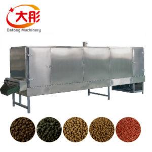 Vis d'aliments pour poissons flottant sec Machine Usine de production de pellets