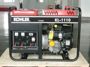 15kVA de lucht Gekoelde Generator van de Benzine
