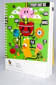 Espiral/Yo Notebook personalizado imprimindo 2016