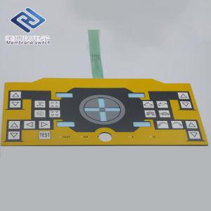 알루미늄 위원회를 가진 발광 다이오드 표시 Windows 막 스위치 키패드