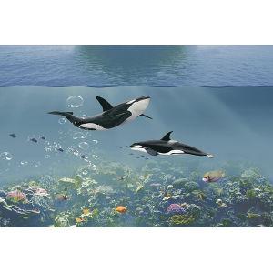 Океан 3D-керамические плитки на стене в Фошань