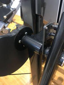 L'estensione del vitello della strumentazione di forma fisica di Lzx per la ginnastica 2018 nuova arriva