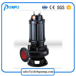 Transferencia de agua sucia de alta temperatura de Aguas Residuales de precio de la bomba sumergible