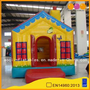 Inflables en el exterior de la casa saltando bouncer para niños (AQ249)