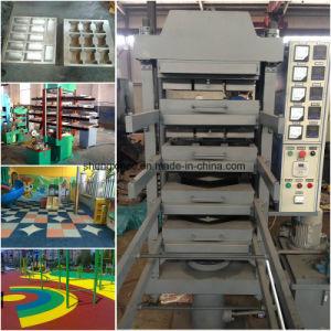 기계 또는 고무 지면 가황 압박을 만드는 Xlb-Dq 550X550X4 고무 도와