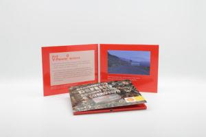 Una impresión personalizada Incih 7 tarjeta de felicitación de vídeo