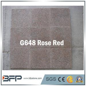 フロアーリング/壁のための磨かれた赤い花こう岩の石の床タイル