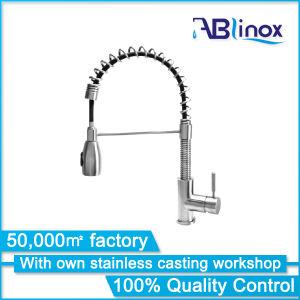 高品質のステンレス鋼の台所コック3の方法Faucet/Pure水栓(AB136)