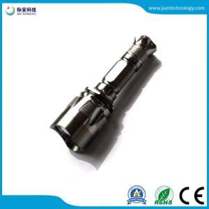 クリー族LED Q5 5W 18650の再充電可能な高い発電LEDの懐中電燈