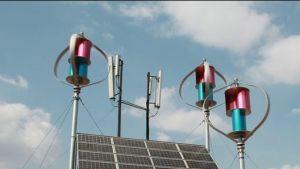 1kw48V verticale avec le contrôleur du système d'éolienne, l'onduleur