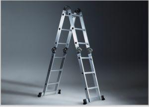 Venda a quente da escada comum de alumínio multiuso dobrável