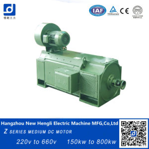 Neuer Hengli Z Series 500kw 400V 750rpm Electrical Gleichstrom Motor